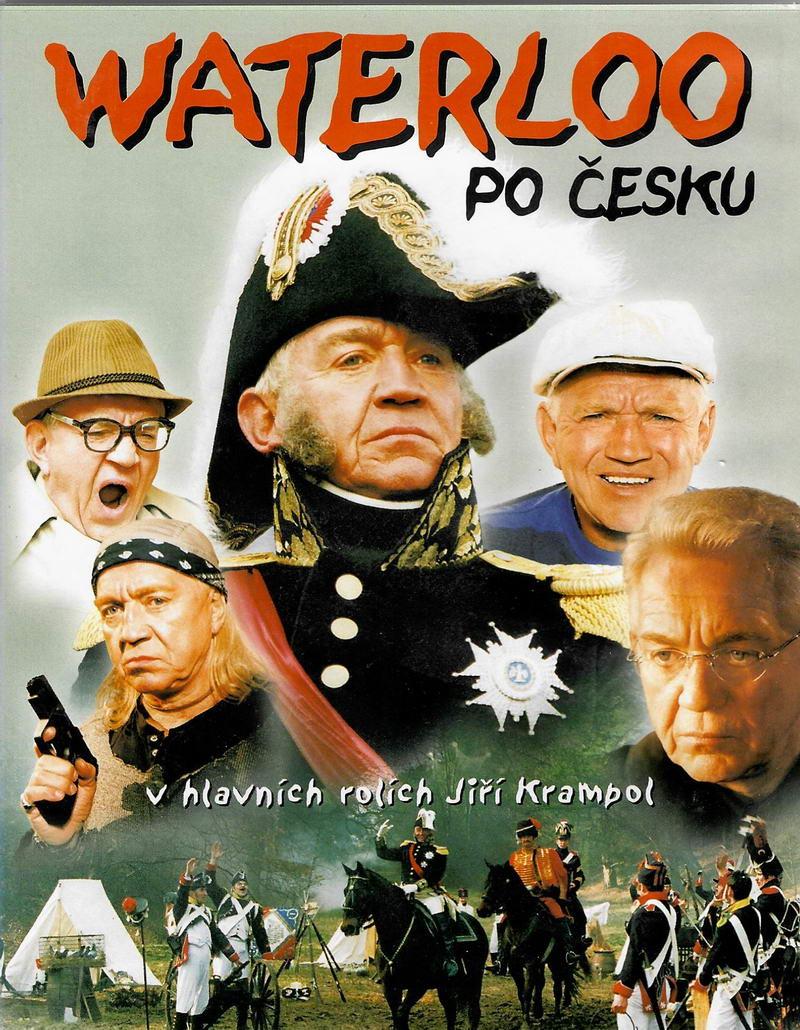 Waterloo po česku - DVD plast