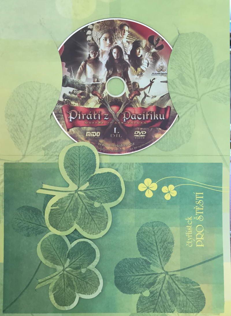 Piráti z Pacifiku I. - DVD /dárkový obal/