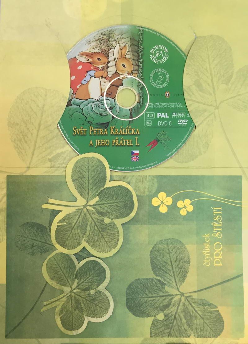 Svět Petra Králíčka a jeho přátel I. - DVD /dárkový obal/
