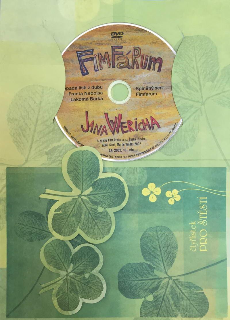 Fimfárum Jana Wericha - DVD /dárkový obal/