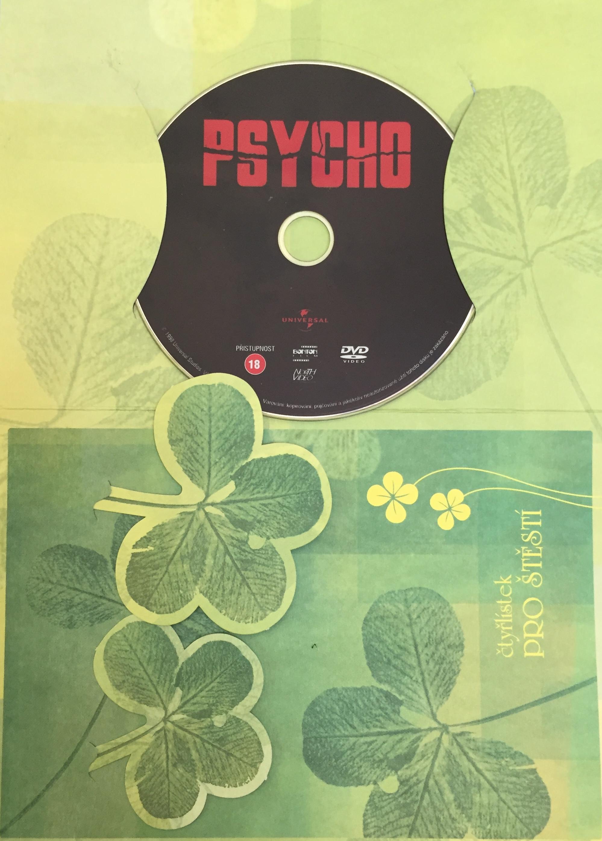 Psycho - DVD /dárkový obal/