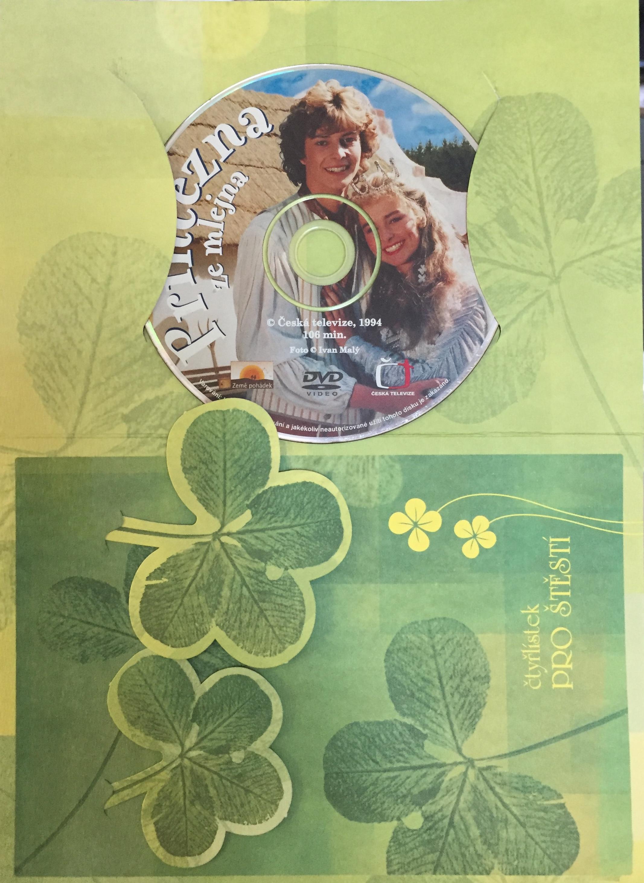 Princezna ze mlejna - DVD /dárkový obal/