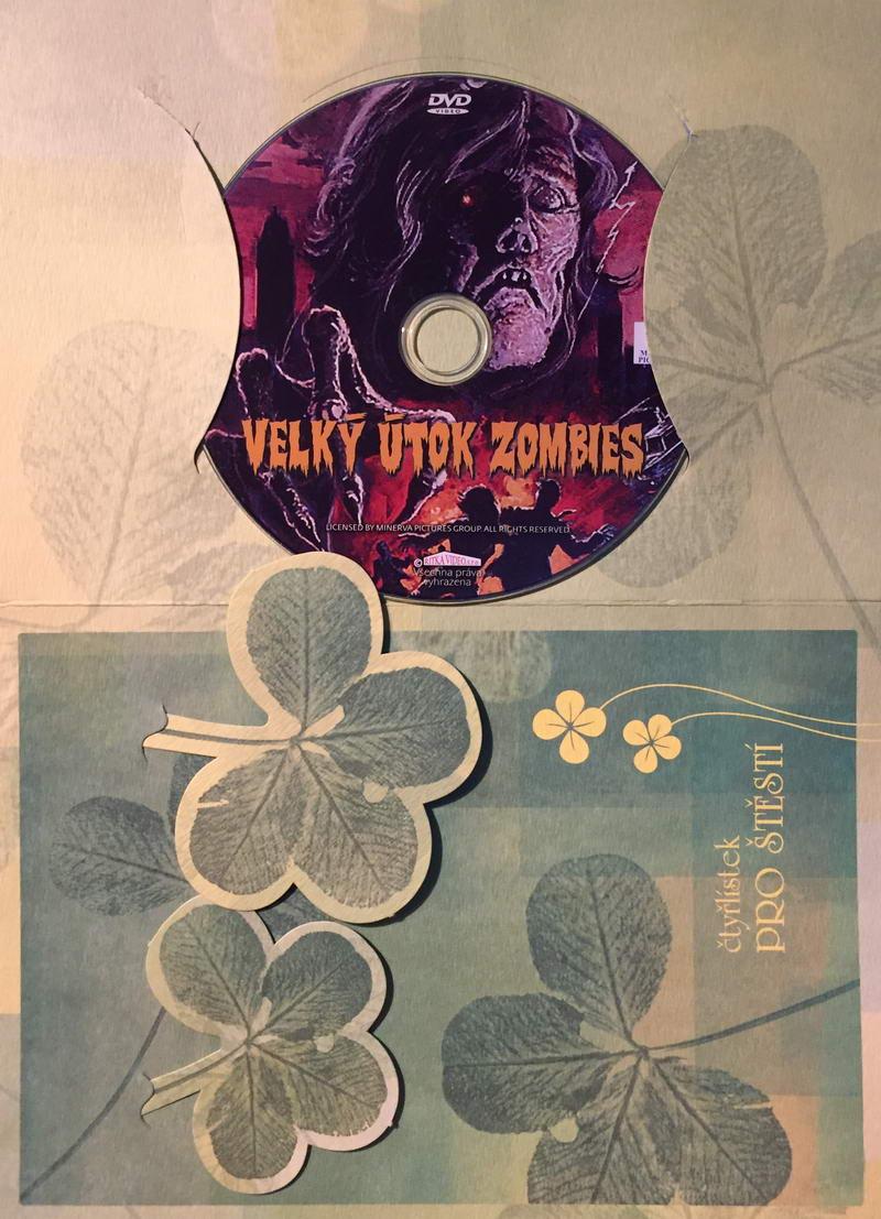 Velký útok Zombies - DVD /dárkový obal/