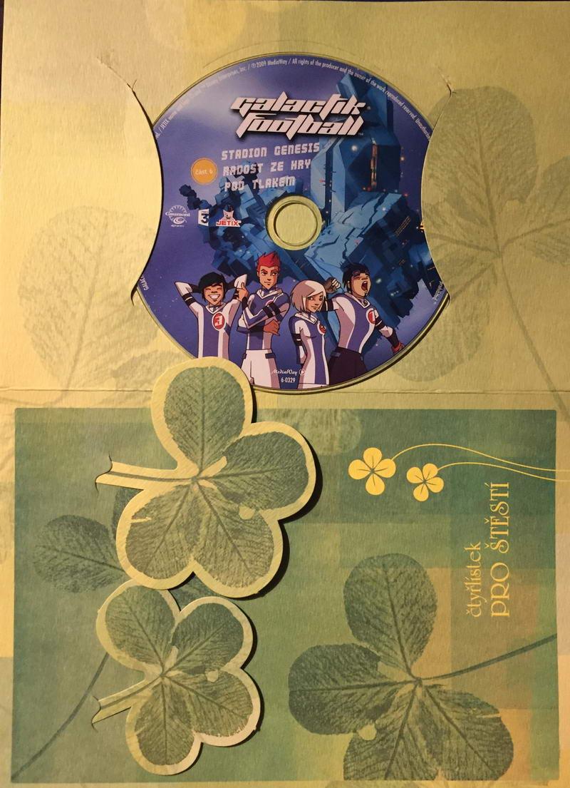 Galactik Football 6. - DVD /dárkový obal/