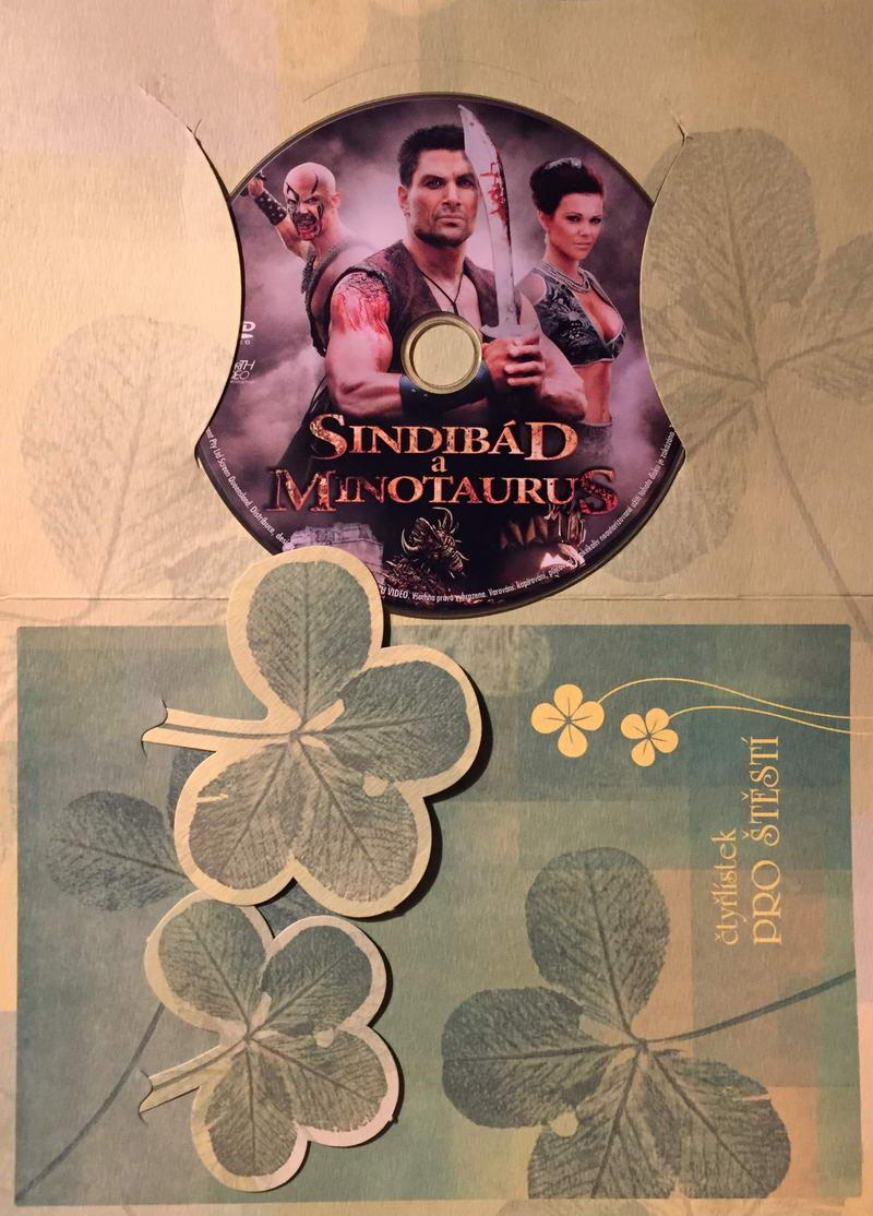 Sindibád a Minotaurus - DVD /dárkový obal/