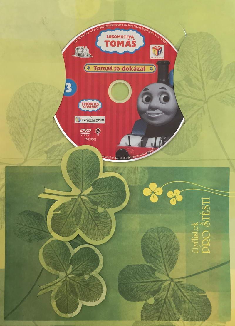 Lokomotiva Tomáš - Tomáš to dokázal - DVD /dárkový obal/