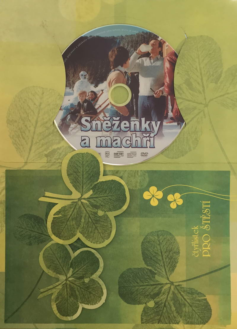 Sněženky a machři - DVD /dárkový obal/