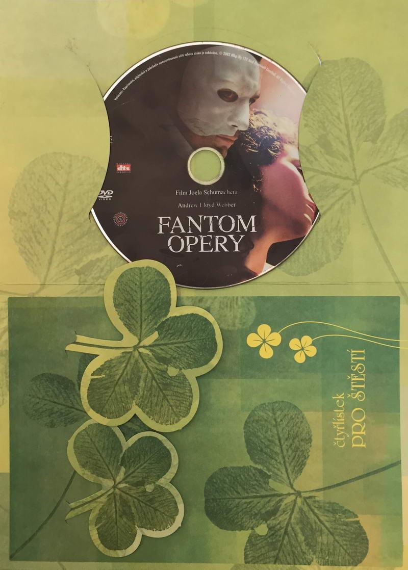 Fantom opery - DVD /dárkový obal/
