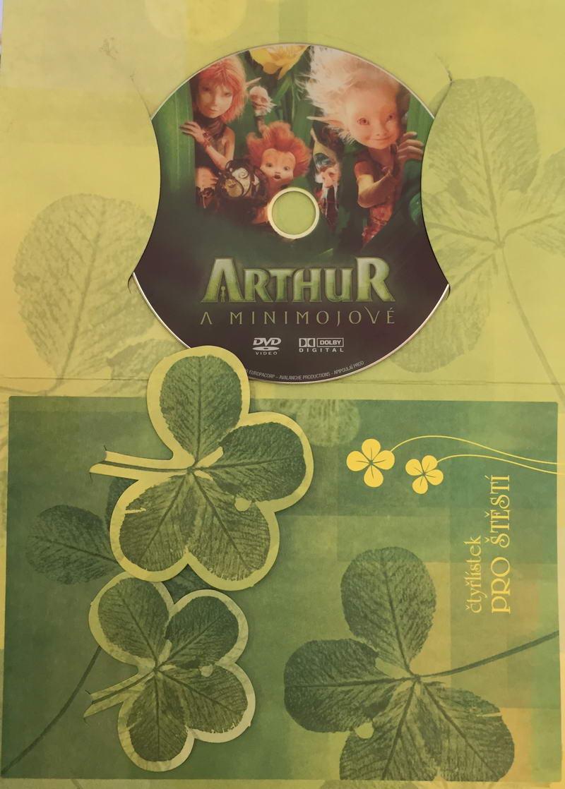 Arthur a minimojové - DVD /dárkový obal/