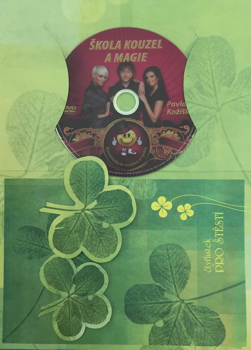 Škola kouzel a magie - DVD /dárkový obal/