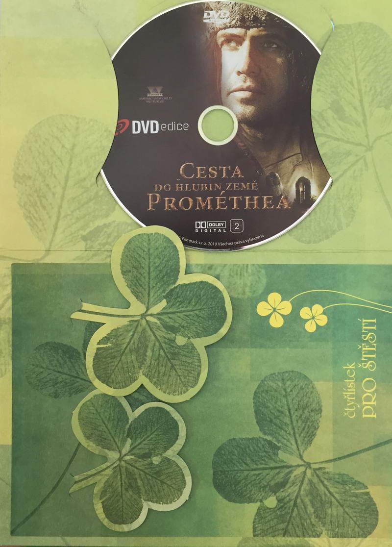 Cesta do hlubin země Promethea - DVD /dárkový obal/