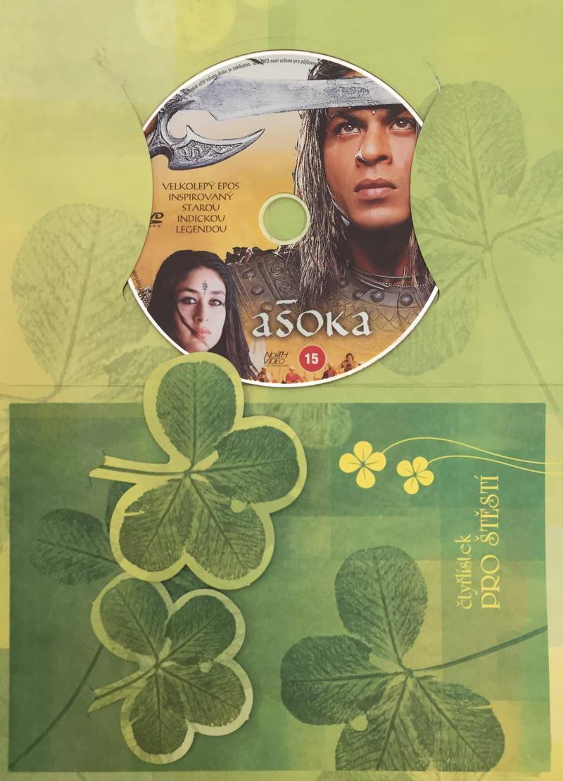 Ašoka - DVD /dárkový obal/