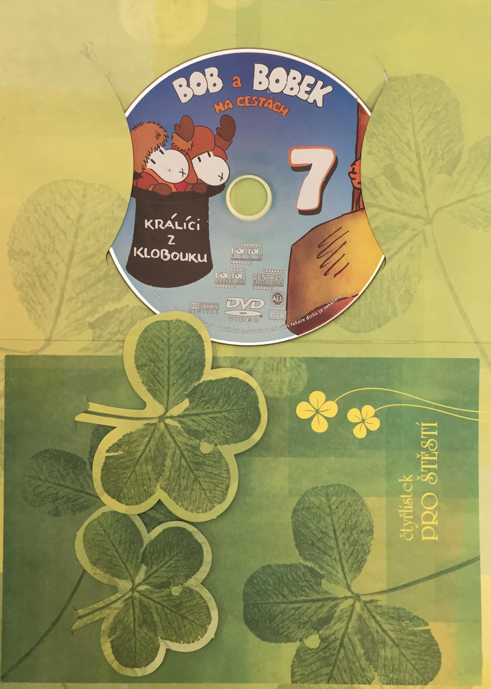 Bob a Bobek na cestách 7 - DVD /dárkový obal/