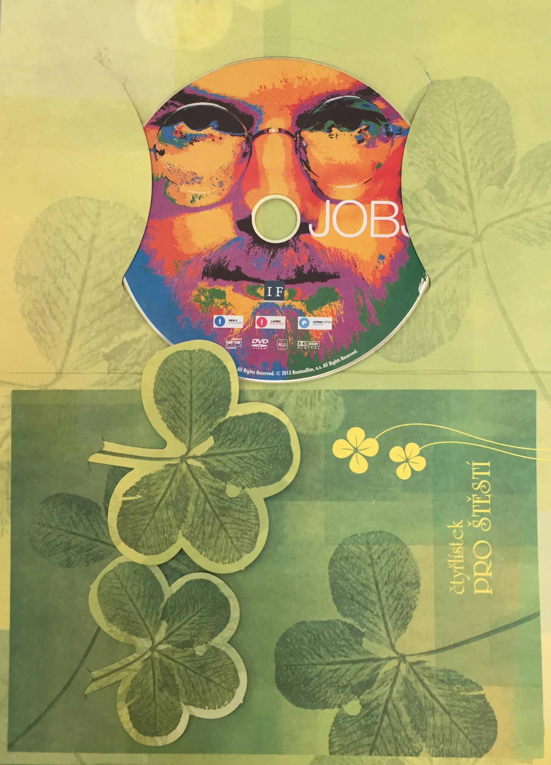 Jobs - DVD /dárkový obal/