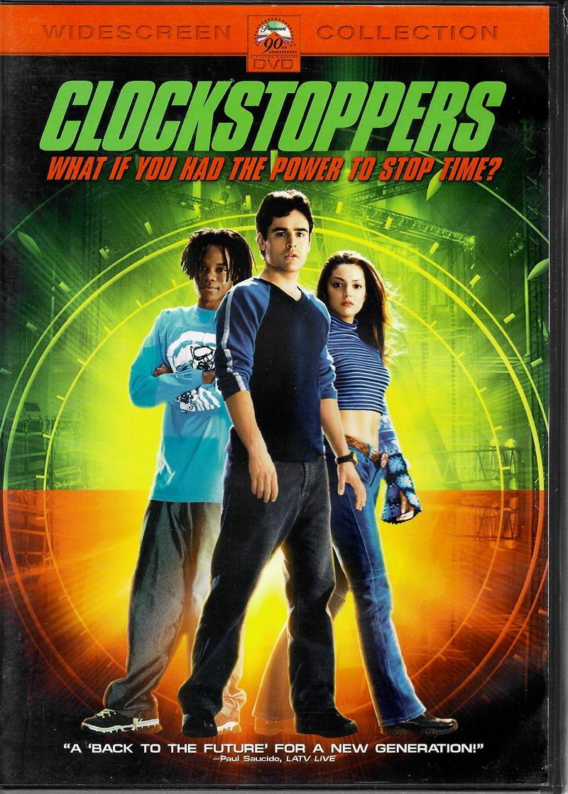 Clockstoppers ( Zloději času) - DVD plast