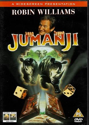 Jumanji ( Originální znění, titulky CZ ) plast DVD
