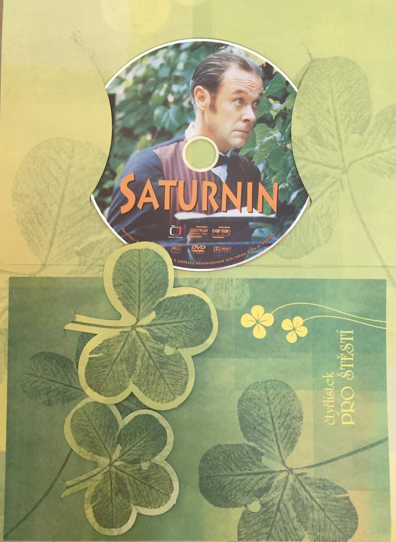 Saturnin - DVD /dárkový obal/