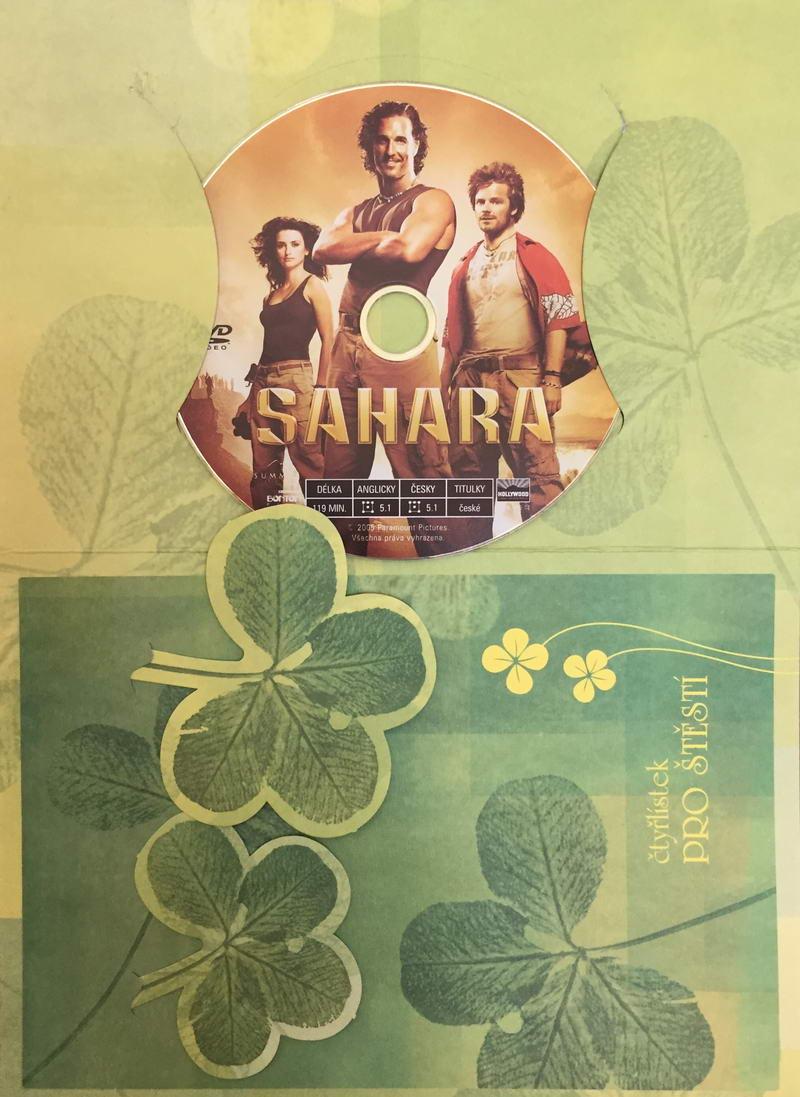 Sahara - DVD /dárkový obal/