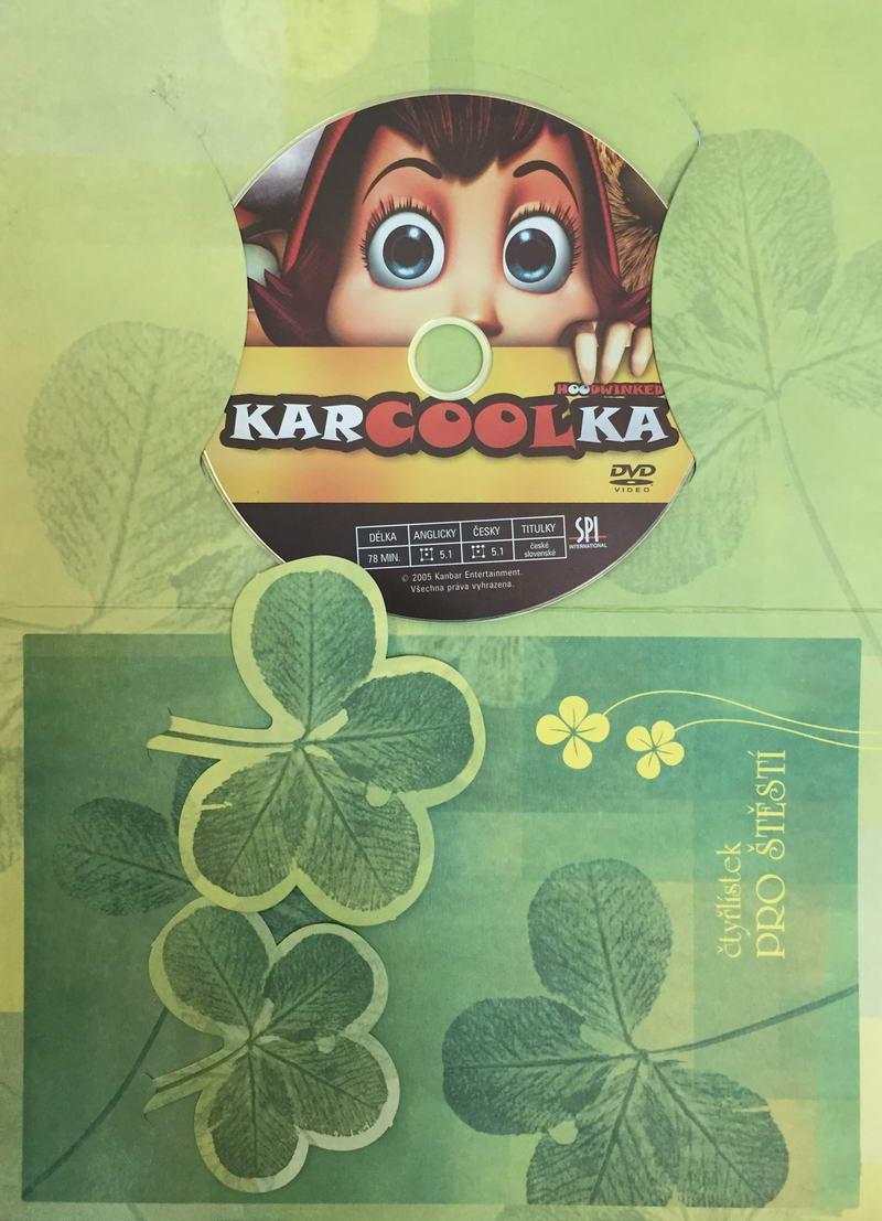 Karcoolka - DVD /dárkový obal/