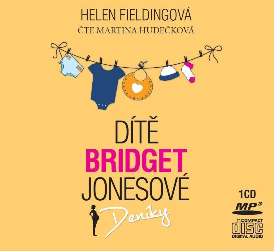 Dítě Bridget Jonesové - Helen Fieldingová - CD Audiokniha