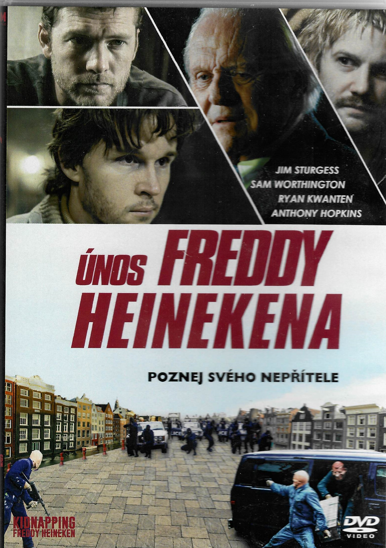 Únos Freddy Heinekena - DVD plast