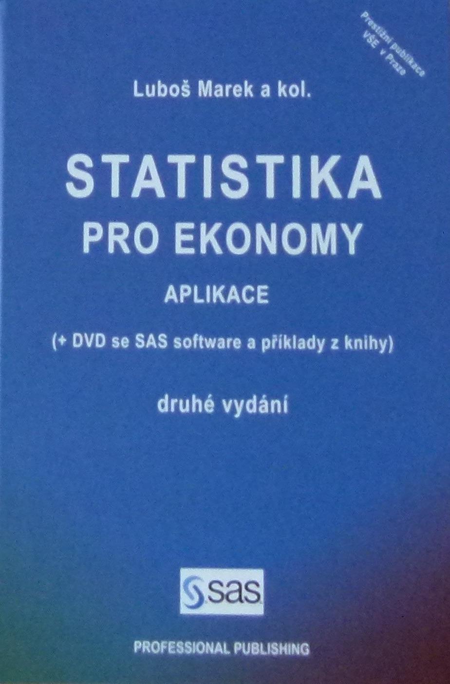 Statistika pro ekonomy - Aplikace - Luboš Marek a kol. /bazarové zboží/