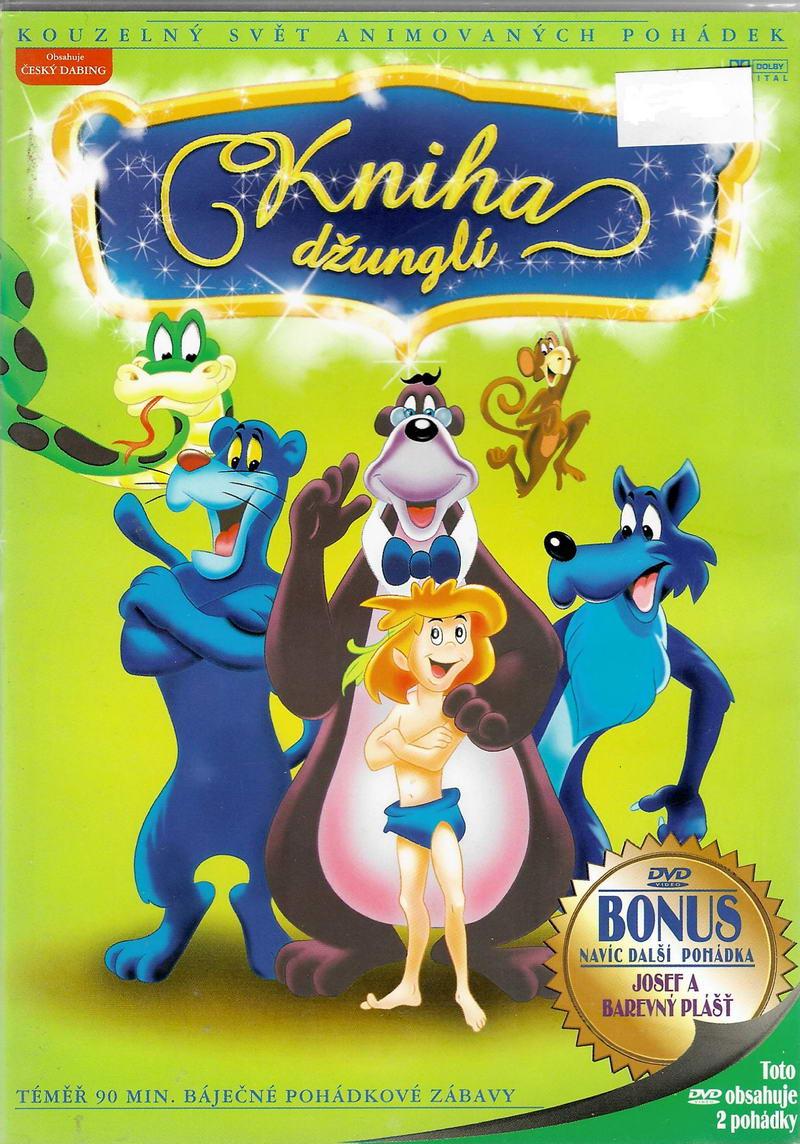 Kniha džunglí ( plast/ slim ) DVD