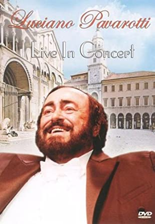 Luciano Pavarotti - Live in concert - DVD plast