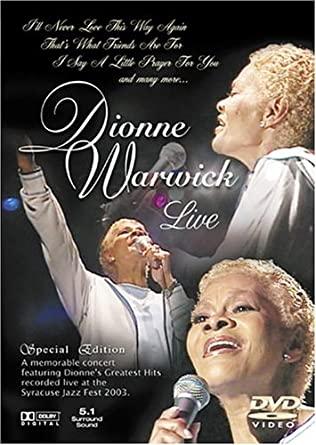 Dionne Warwick - Live - DVD plast