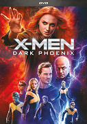 X-Men Dark Phoenix - DVD plast