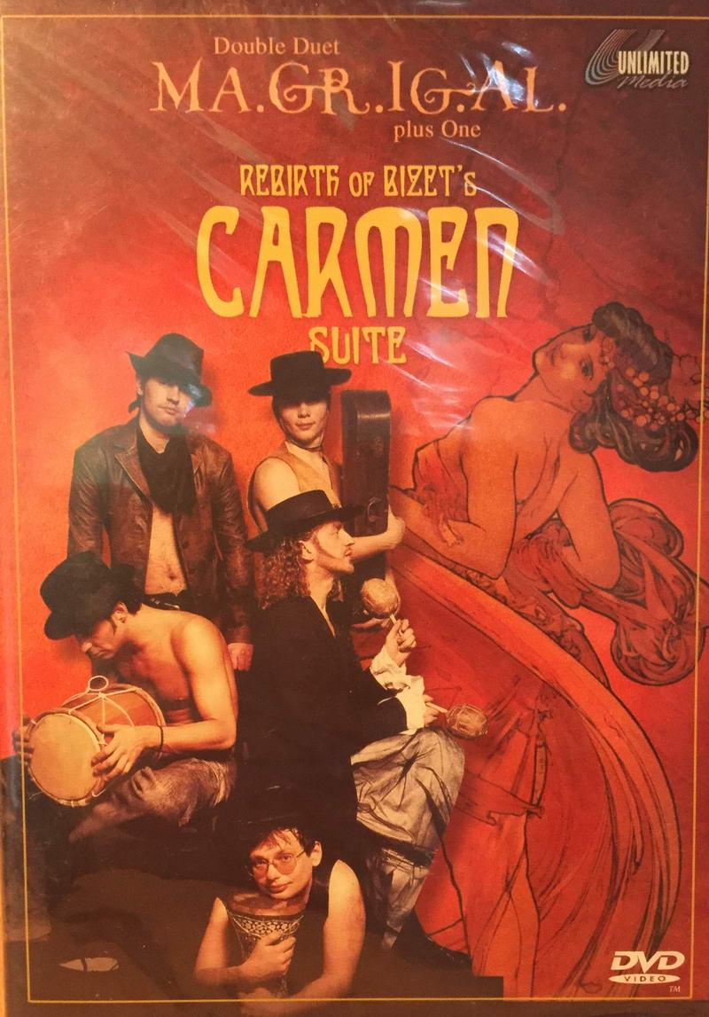 Double Duet MA.GR.IG.AL. plus One - Carmen Suit - DVD plast