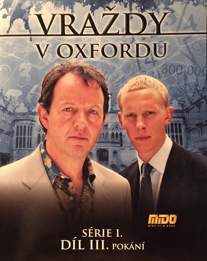 Vraždy v Oxfordu - Série I. - Díl III. Pokání - DVD pošetka