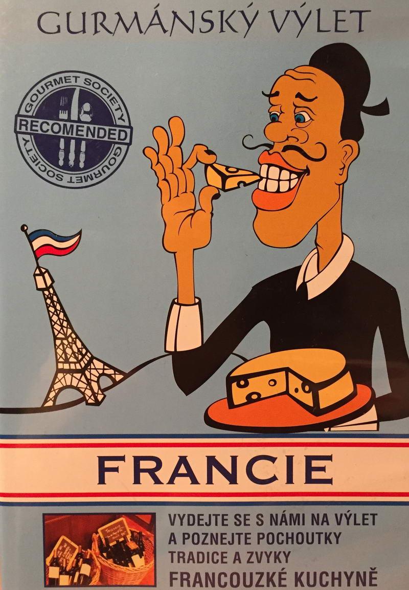 Gurmánský výlet - Francie - DVD plast