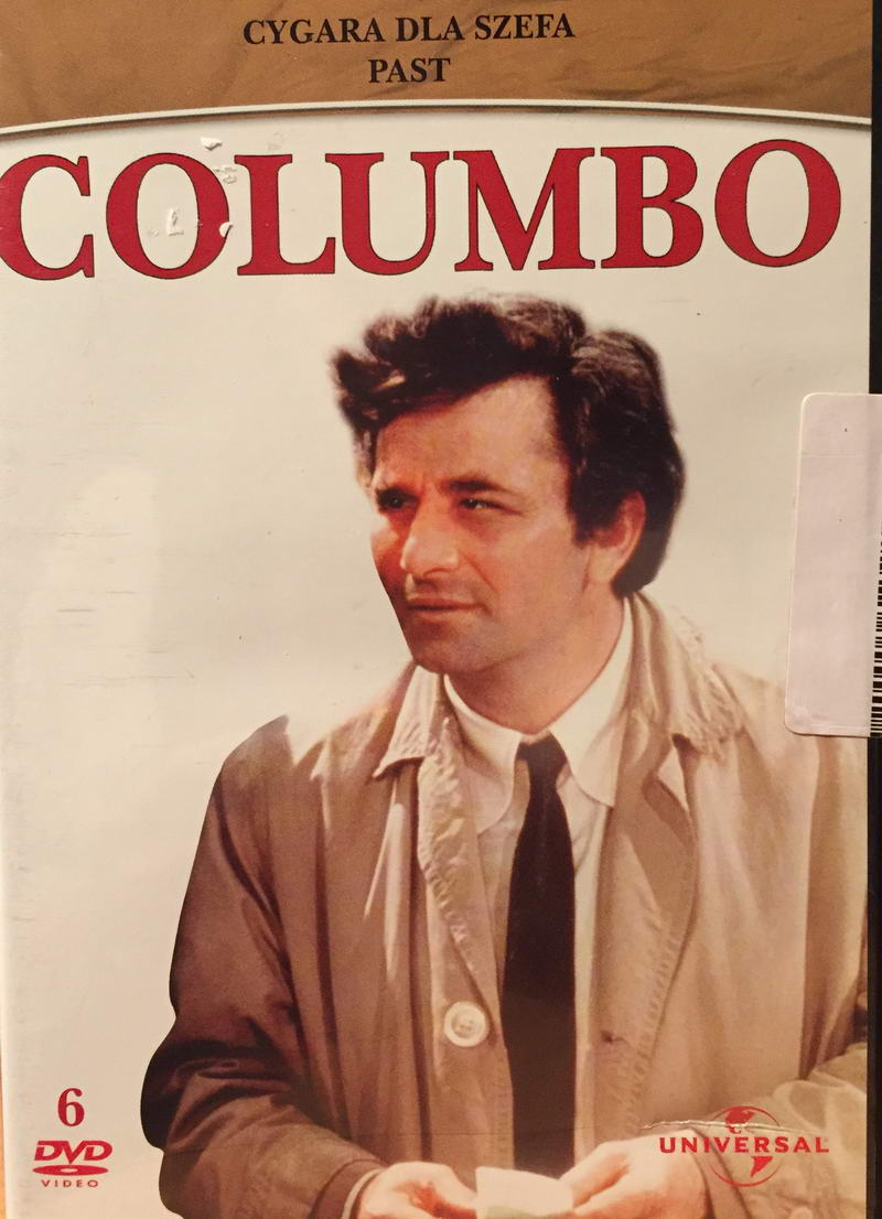 Columbo - Past - DVD plast