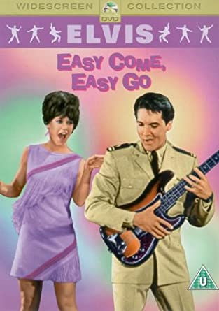 Elvis - Easy Come, Easy Go - DVD plast