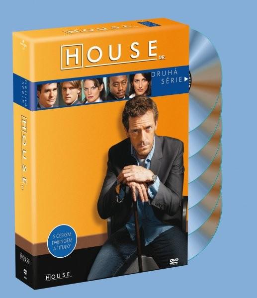 House Dr. - Druhá série - kolekce 6xDVD plast