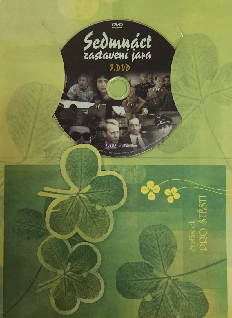 Sedmnáct zastavení jara - DVD 3 /dárkový obal/