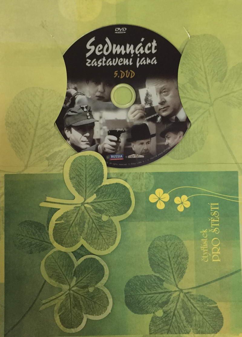 Sedmnáct zastavení jara - DVD 5 /dárkový obal/