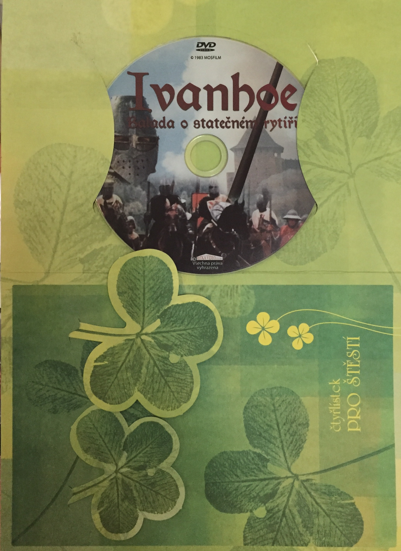 Ivanohoe - Balada o statečném rytíři - DVD /dárkový obal/