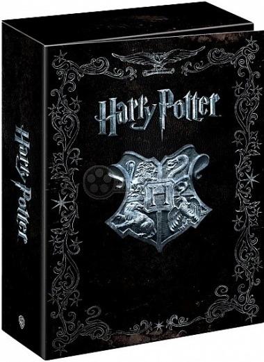 Harry Potter - limitovaná edice 7 dílů s průvodní knihou v dárkovém boxu - 16xDVD