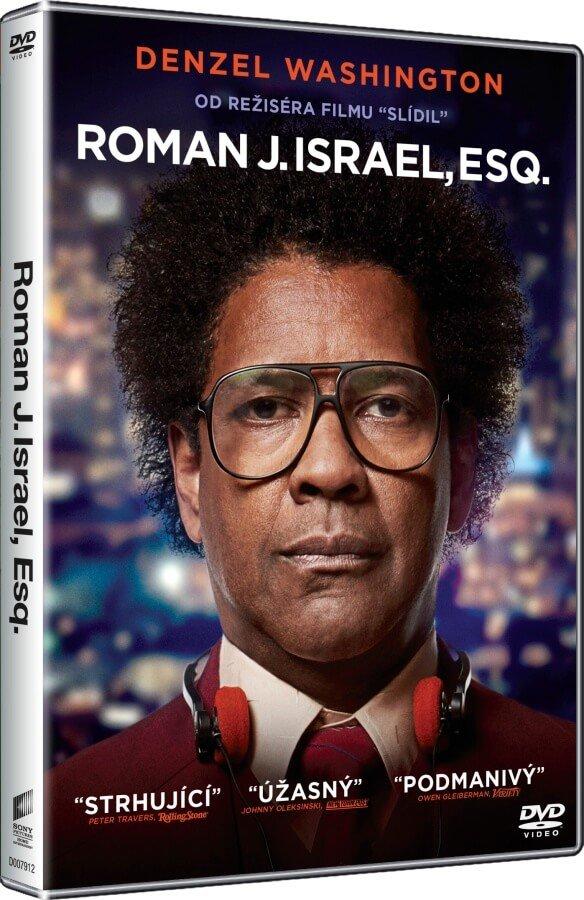 Roman J. Israel, Esq. - DVD plast