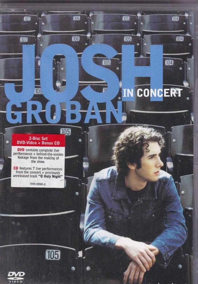 Josh Groban in Concert- CD + DVD plast