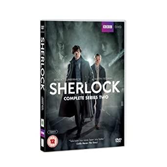 Sherlock - kompletní dvoudisková série - DVD plast