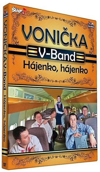 Vonička V-Band - Hájenko, hájenko - DVD plast