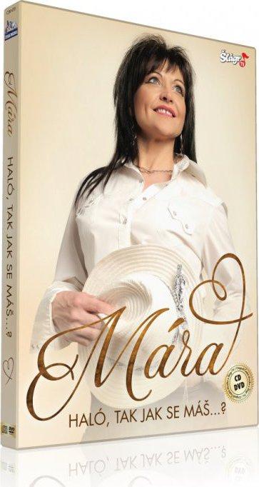 Mára - Haló, tak jak se máš...? - CD + DVD plast