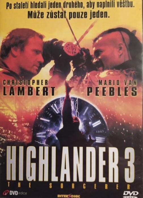 Highlander 3 - DVD plast