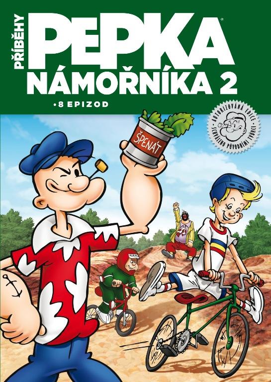 Příběhy Pepka námořníka 2 - DVD plast