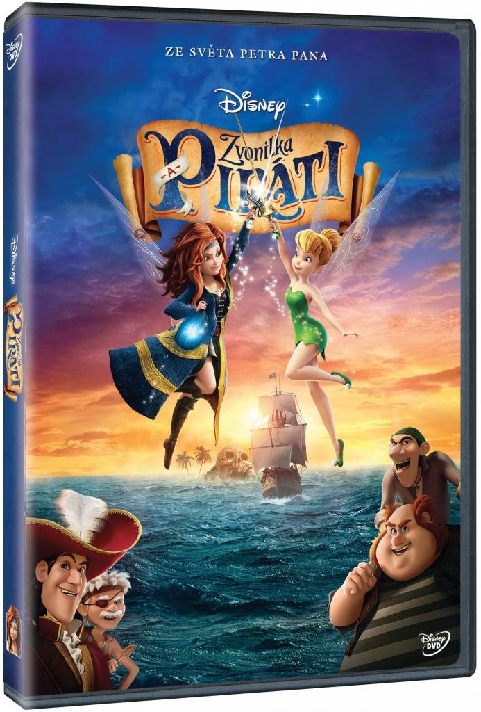Zvonilka a piráti - DVD plast