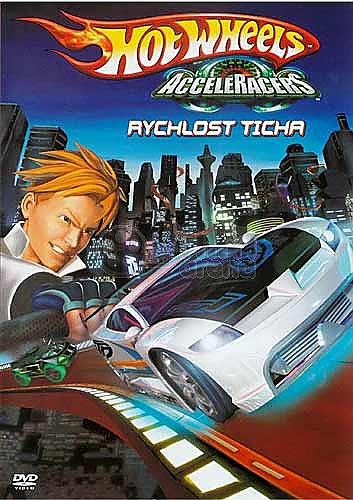 Hotwheels - Rychlost auta - DVD plast
