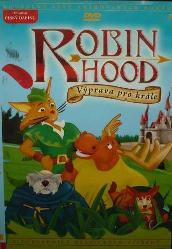 Robin Hood - Výprava pro krále - DVD plast
